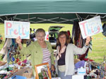 Alison and Ann on the Pretty Things stall