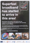Superfast Broadband Poster