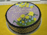 Pillaton WI 65th Anniversary Cake