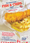 SIA Fish 'n Chip Supper poster